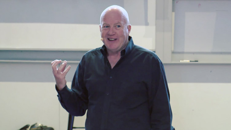 Kevin Roberts at Auckland Uni