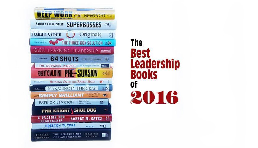 Best Leadership Books of 2016