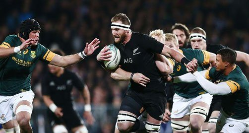 All Blacks Kieran Reid