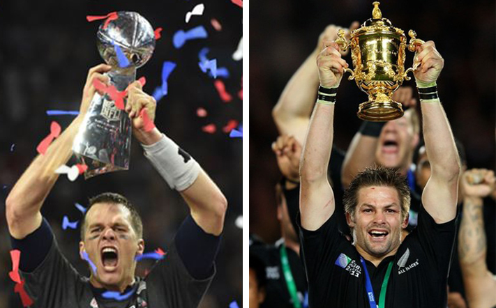 Tom Brady and Richie McCaw